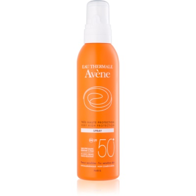 Avène Sun Sensitive spray do opalania SPF 50+