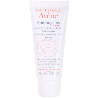 crema giorno per pelli sensibili con tendenza all'arrossamento