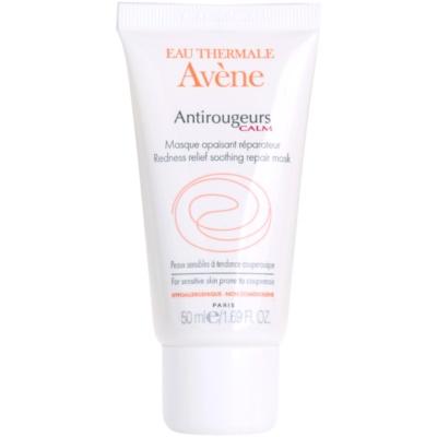 máscara facial calmante para a pele sensível com tendência a aparecer com vermelhidão