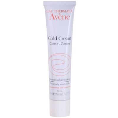 Avène Cold Cream Crème  voor Zeer Droge Huid