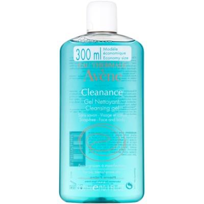 Avène Cleanance tisztító gél problémás és pattanásos bőrre