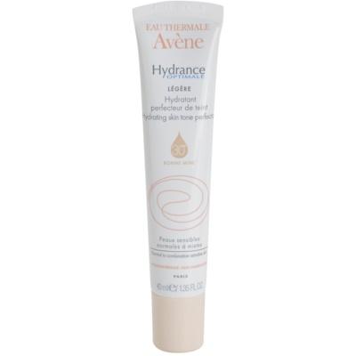 crème légère hydratante unifiante pour peaux sensibles normales à mixtes