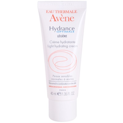 Avène Hydrance crème hydratante pour peaux normales à mixtes