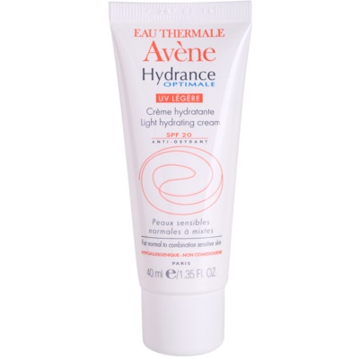 Avène Hydrance hidratáló krém normál és kombinált bőrre SPF 20