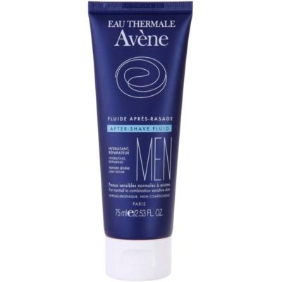fluide après-rasage pour les peaux sensibles normales à mixtes