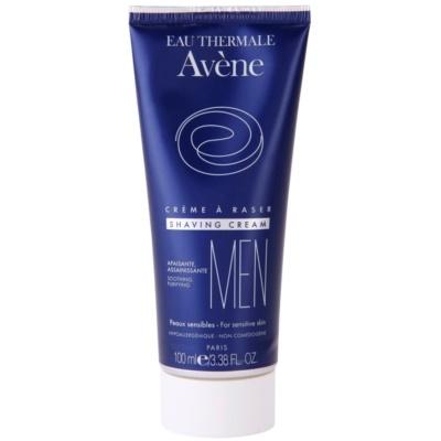crème à raser pour peaux sensibles
