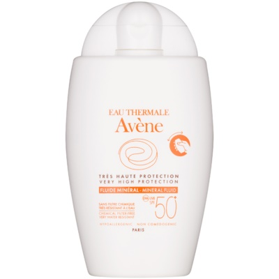 Avene Sun Mineral Sunscreen Fluid without Chemical Filters SPF 50+