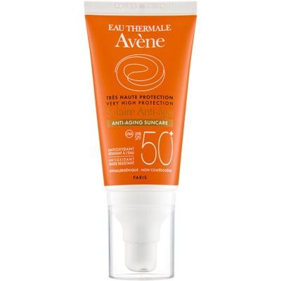 Avène Sun Anti-Age crema protettiva antirughe per il viso SPF 50+