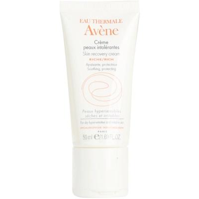 crème visage pour peaux intolérantes
