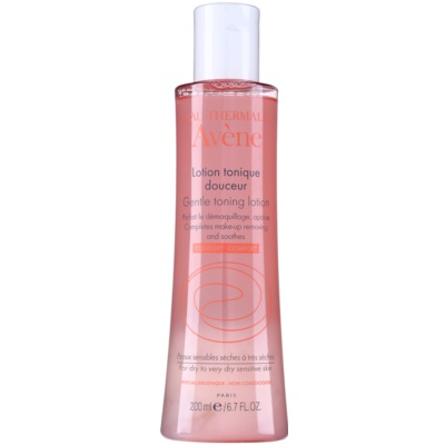 Avène Skin Care Gentle Cleansing Toner for Sensitive Skin