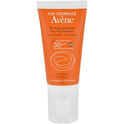 Avène Sun Sensitive crema solar con color SPF 50+