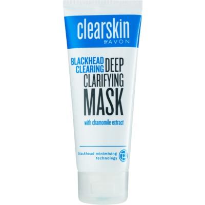 hĺbkovo čistiaca maska proti čiernym bodkám