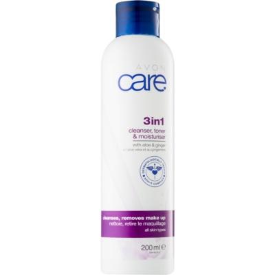 gel facial de limpeza 3 em 1