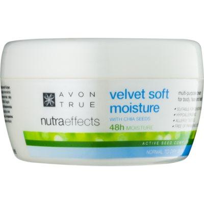 crema idratante emolliente per viso e corpo