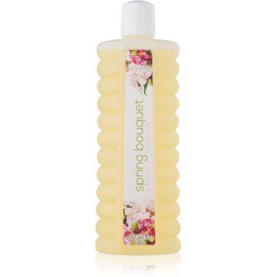 espuma de baño con aroma a flores de primavera
