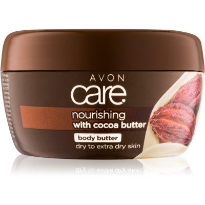 nährende Körpercrem mit Kakaobutter