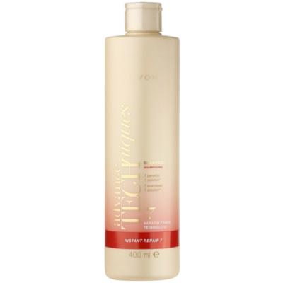 obnovující šampon s keratinem pro poškozené vlasy