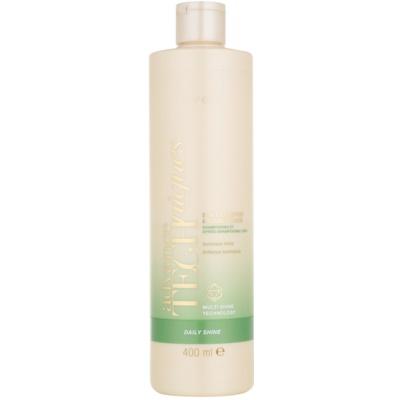 shampoing et après-shampoing 2 en 1 pour tous types de cheveux