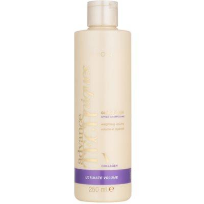 condicionador com colagénio para aumentar o volume de cabelo