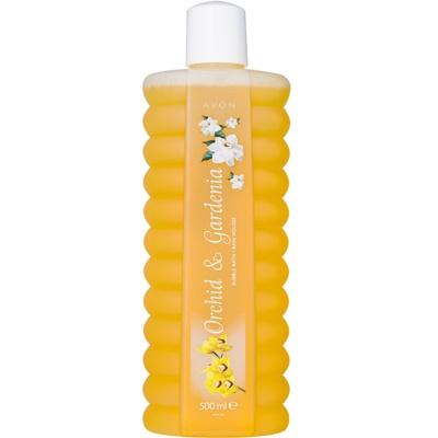 espuma de banho com fragrância floral