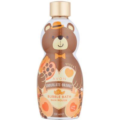 fürdőhab csokoládé és narancs illattal