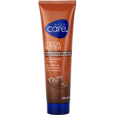revitalizačný hydratačný krém na ruky s kakaovým maslom a vitamínom E