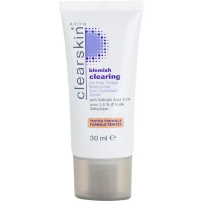 tonisierende hydratierende Creme für unreine Haut