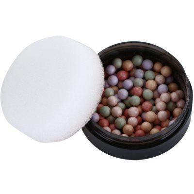 perlas con color para unificar el tono de la piel