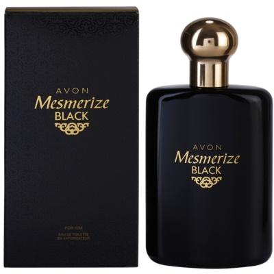 Avon Mesmerize Black for Him Eau de Toilette pentru barbati