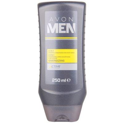 sprchový gel na tělo a vlasy