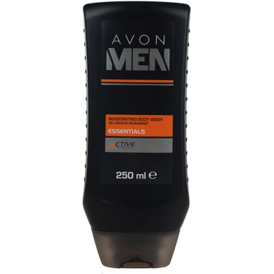Avon Men Essentials osvežujoč gel za prhanje