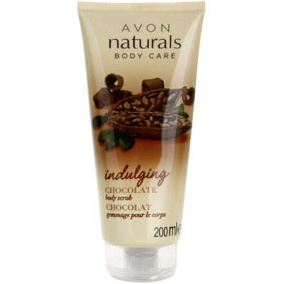 exfoliante corporal con chocolate