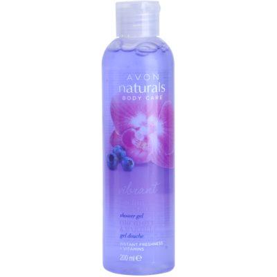 Duschgel mit Orchidee und Blaubeere