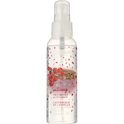 Body Spray with Cranberry and Cinnamon