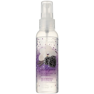 Body Spray with Blackberry and Vanilla