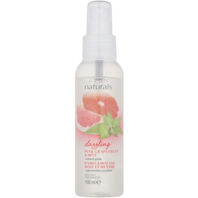 bodyspray met grapefruit en munt