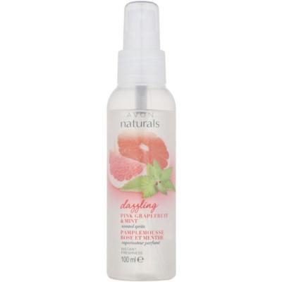 telový sprej s grapefruitom a mätou