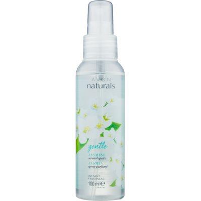 spray corporal refrescante  con olor a jazmín