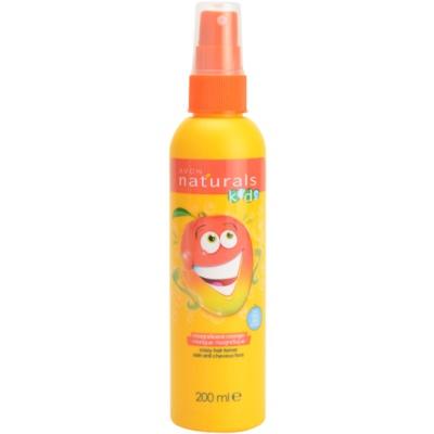 Avon Naturals Kids spray para facilitar el peinado