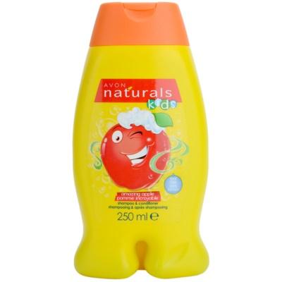 Avon Naturals Kids champô e condicionador 2 em 1 para crianças