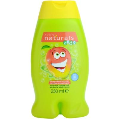 Avon Naturals Kids bain moussant et gel douche 2 en 1 pour enfant