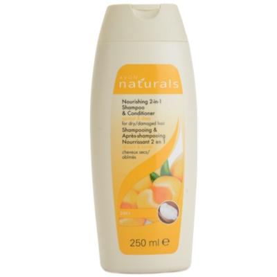 hranilni šampon in balzam za suhe in poškodovane lase