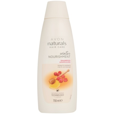 hranilni šampon z medom in brusnico  za vse tipe las