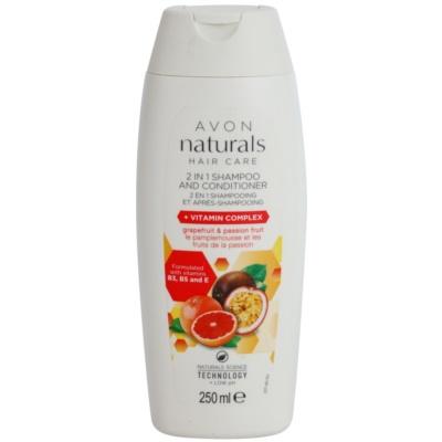 šampon a kondicionér 2 v 1