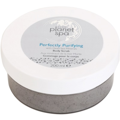 Avon Planet Spa Perfectly Purifying exfoliant pentru corp cu minerale