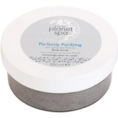 Avon Planet Spa Perfectly Purifying oczyszczający peeling do ciała  z minerałami
