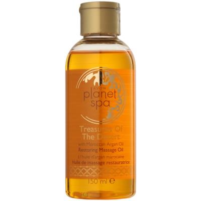 aceite de masaje renovador con aceite de argán de Marruecos