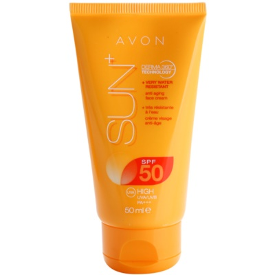 Rejuvenating Waterproof Sunscreen On Your Face SPF 50