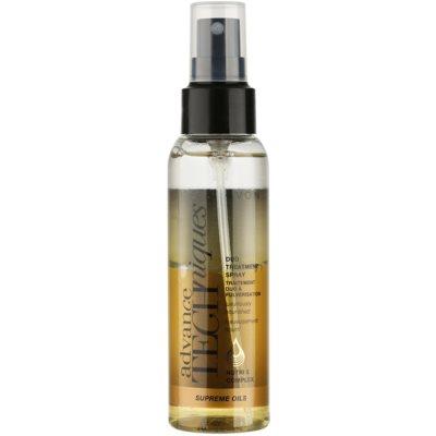intenzivní vyživující sprej s luxusními oleji pro všechny typy vlasů