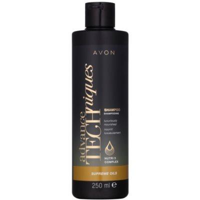 champô nutritivo intensivo com luxuosos óleos para todos os tipos de cabelos